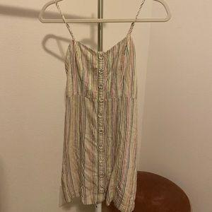 Forever 21 rainbow stripe dress
